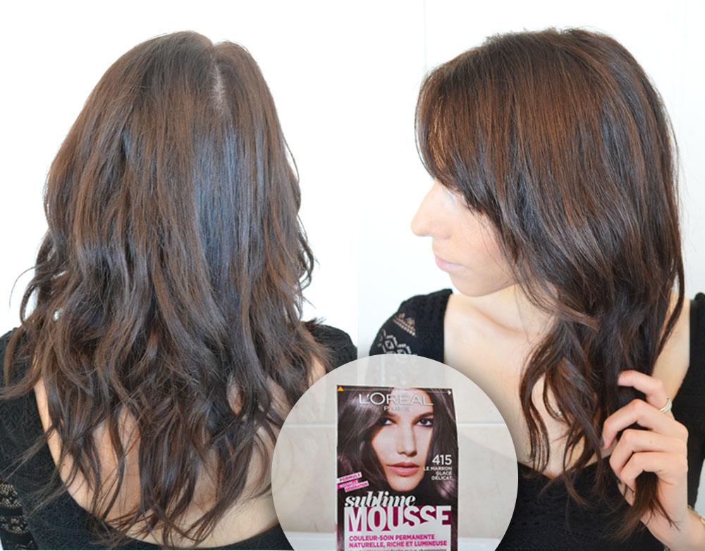 415 marron glac dlicat - Coloration Cheveux Marron Glac